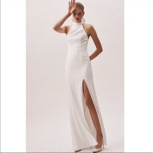 Anthropologie x BHLDN Montreal Crepe  Dress